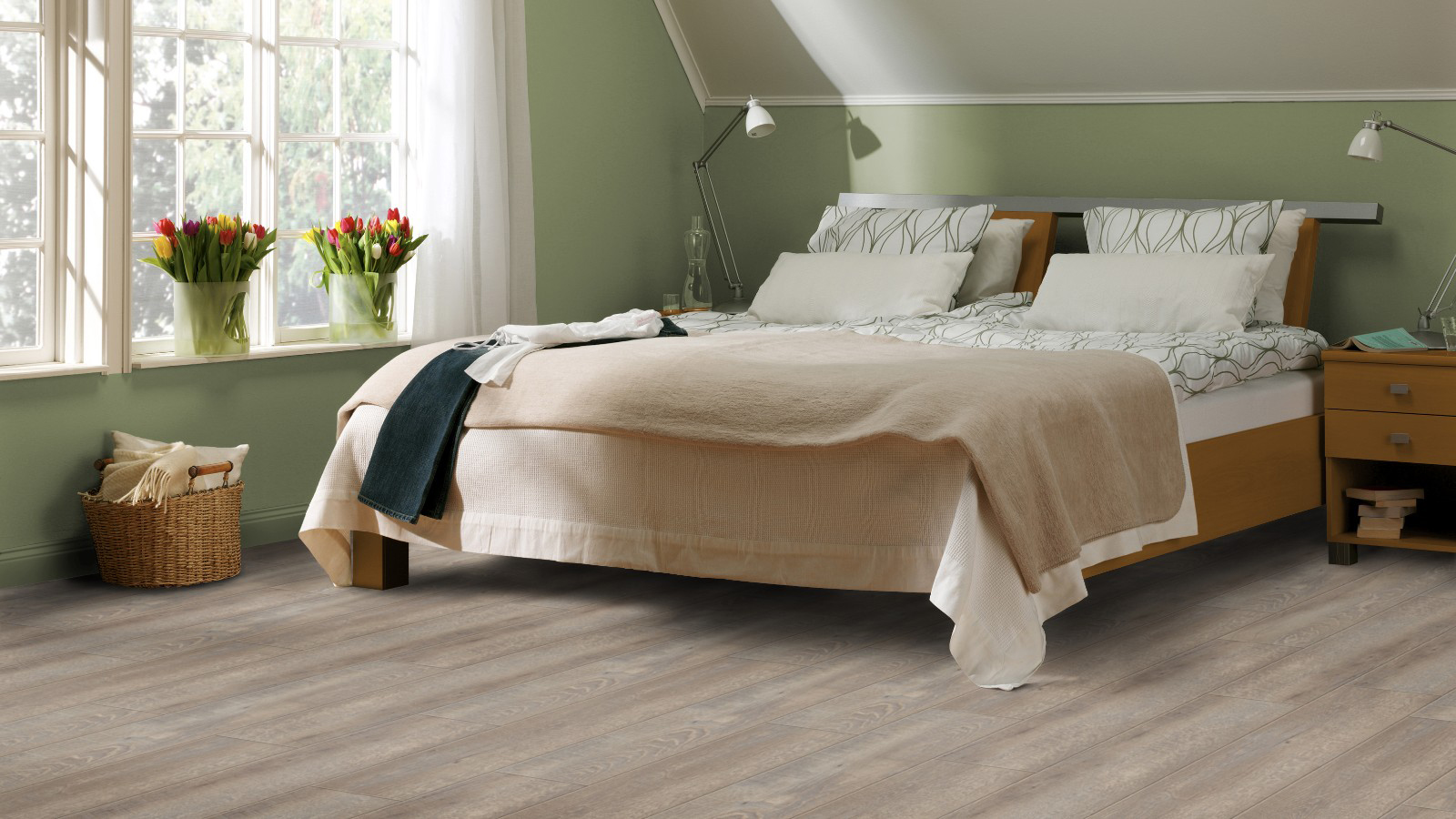 Impressionen – Tarkett Designvinyl Starfloor 30 Smoked oak light grey