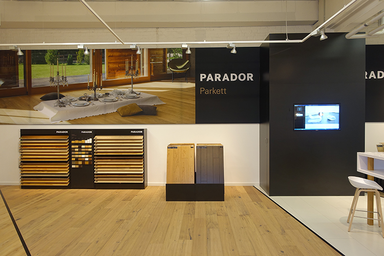 Neues Parador Studio – Parkett