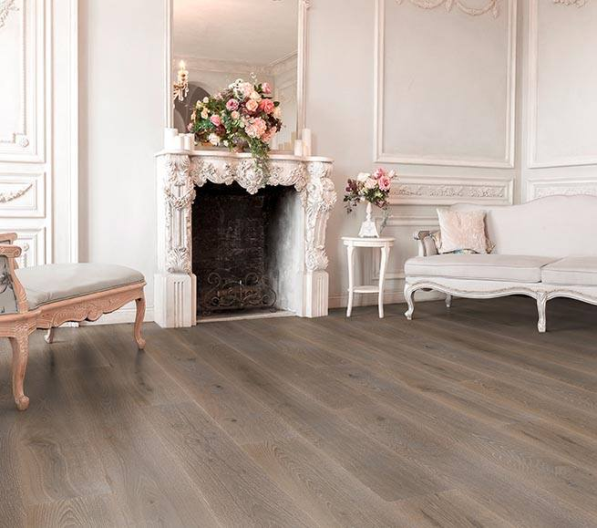 Woodline Parquetry – Dunkle Landhausdiele
