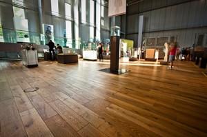 Parkett für das Römermuseum: koelnparkett Vollholzdielen