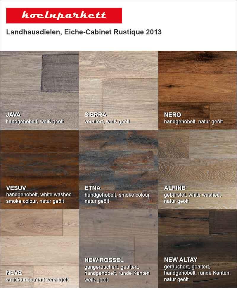 Koelnparkett Eichendielen – Neue Landhausdielen Eich Cabinet Rustique