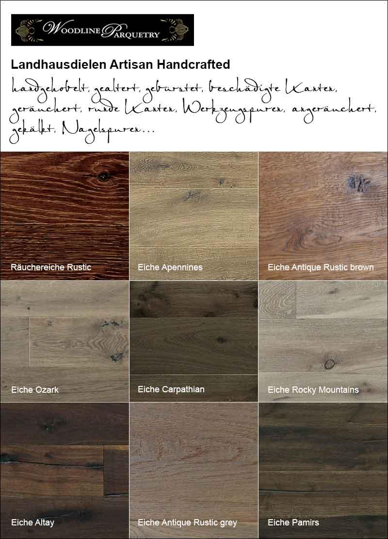 Der Parkett Riese und Woodline Parquetry – Collage
