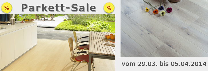 Parkett-Sale bei Parkett Riese