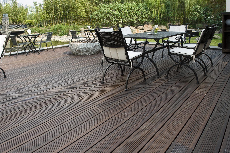 Terrassendielen – Terrasse im Park