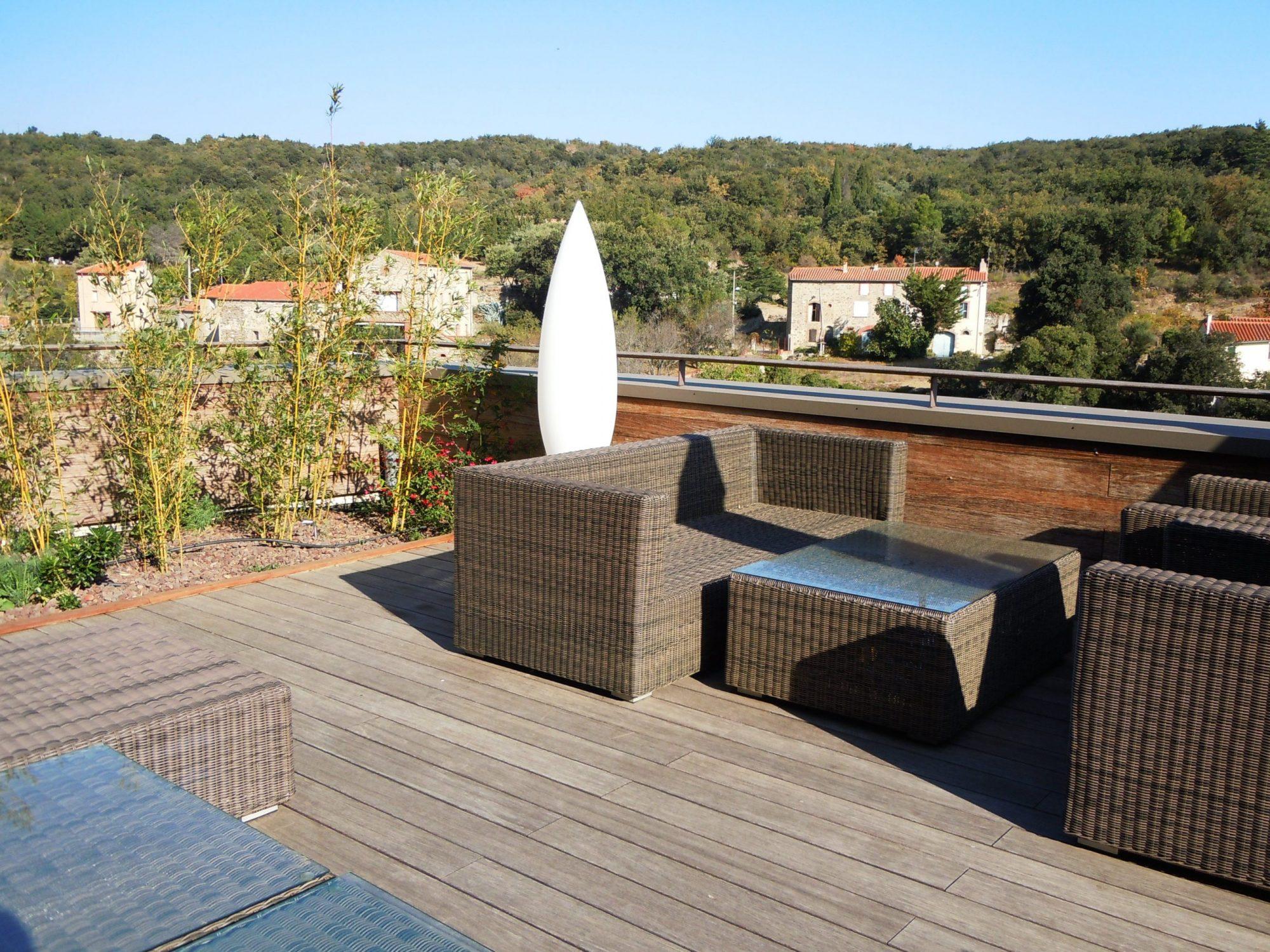 Terrassendielen – Terrasse mit Aussicht