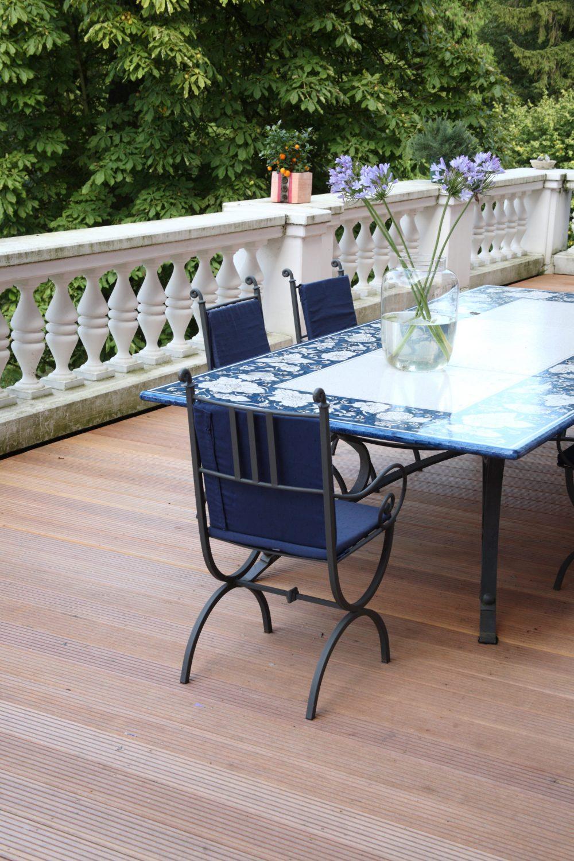 Terrassendielen – Terrasse vor Altbau
