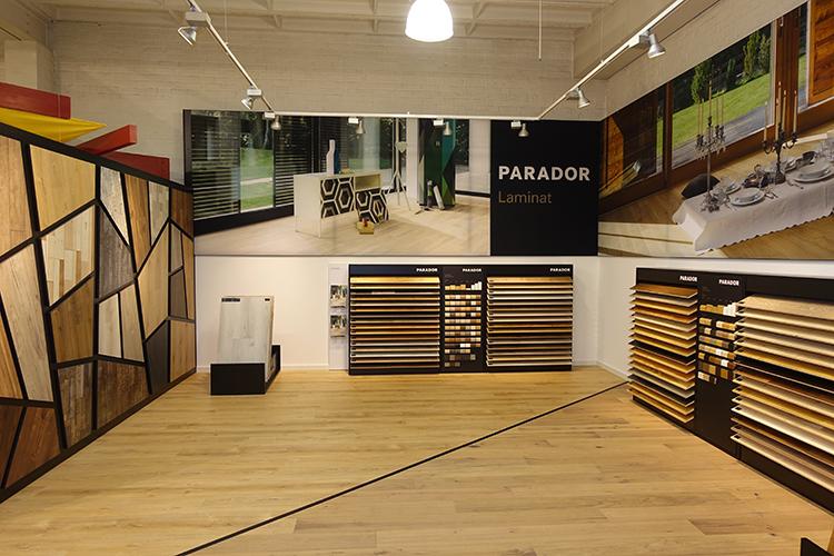 Neues Parador Studio – Laminat