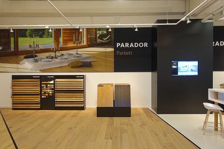 Neues Parador Studio – Parkett