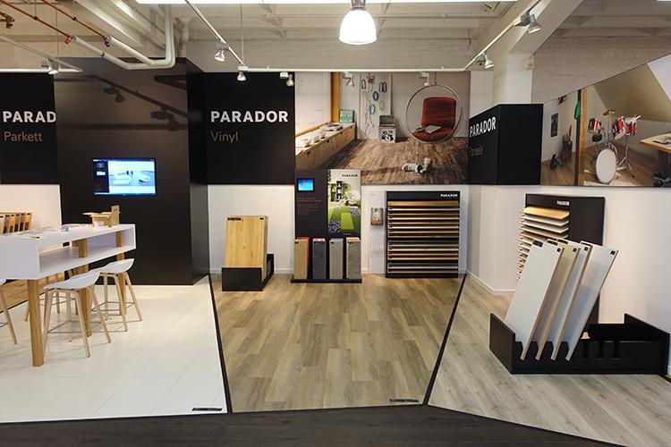Neues Parador Studio – Vinylboden