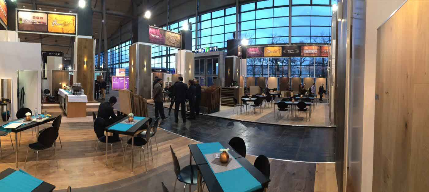 Domotex Hannover 2016 – Stand innen