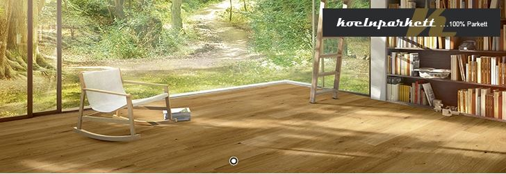 koelnparkett Landhausdiele Cabinet Eiche-Natur farblos geölt