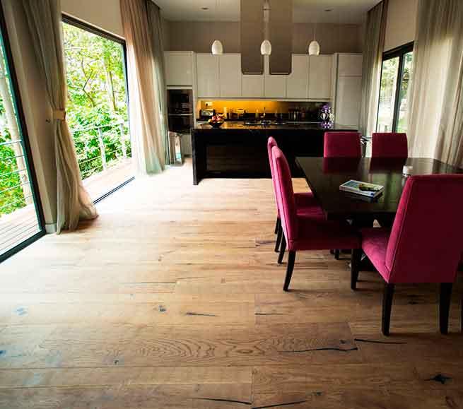Castelveccio Landhausdiele von Woodline Parquetry Raumbild