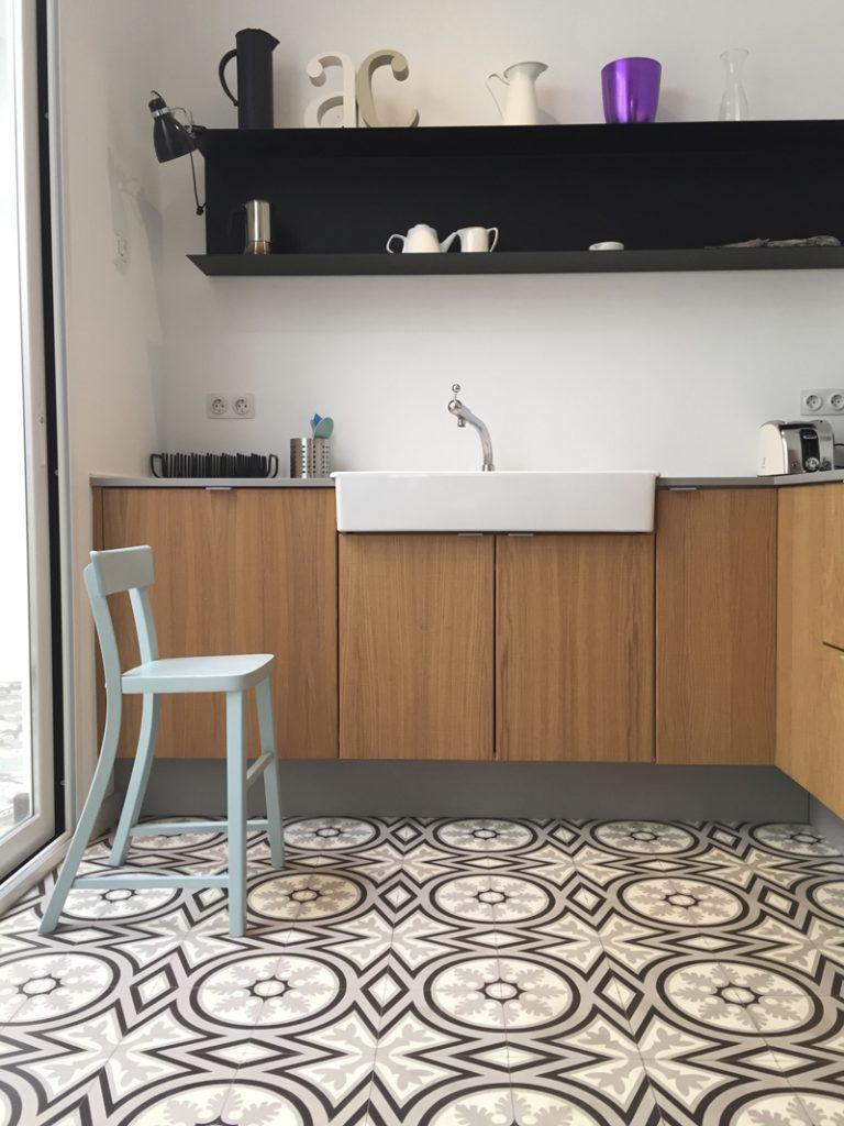 VIA Zementmosaikplatten in der Küche