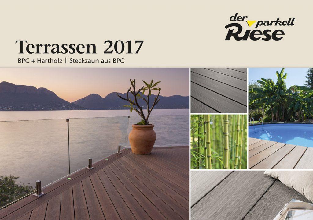 Garten- und Terrassenkatalog 2017 Cover von Der Parkett Riese