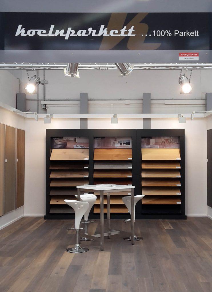Neue Böden in unserer Parkett-Ausstellung: koelnparkett Studio
