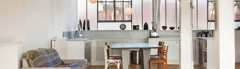 Eiche Landhausdiele Vintage Küche – Essplatz mit Charme