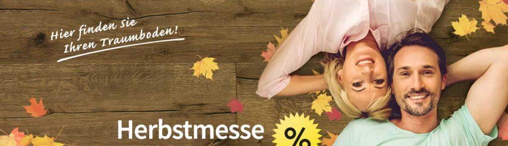 Herbstmesse 2019 – Günstiges Parkett, Vinyl und Laminat!