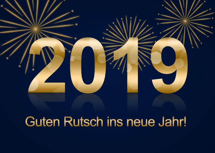 Guten Rutsch – Silvester 2018