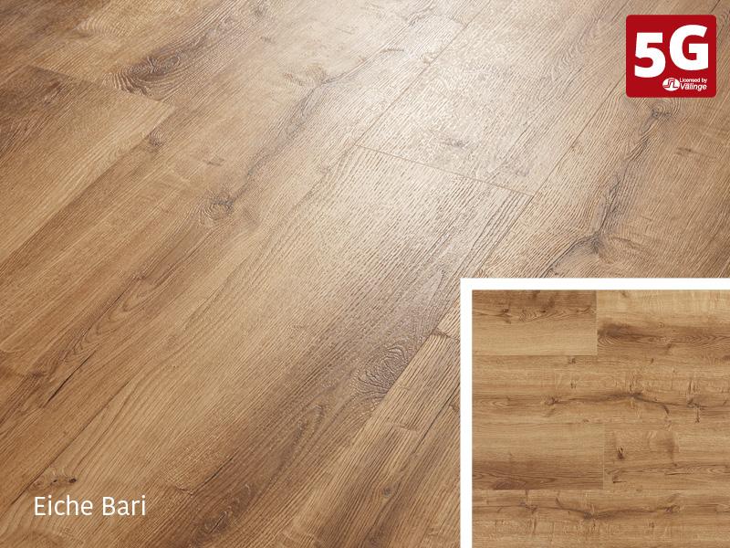 Design-Vinylboden Rigid 55 Eiche Bari