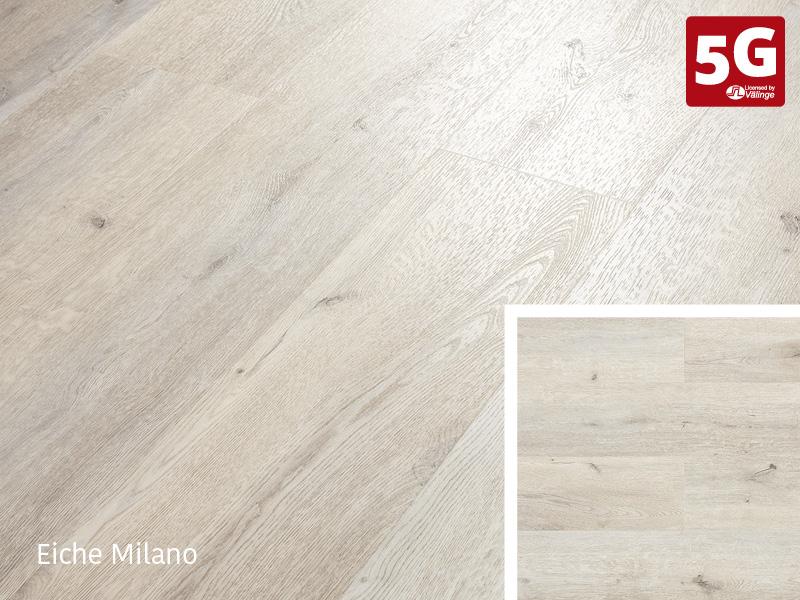 Design-Vinylboden Rigid 55 Eiche Milano