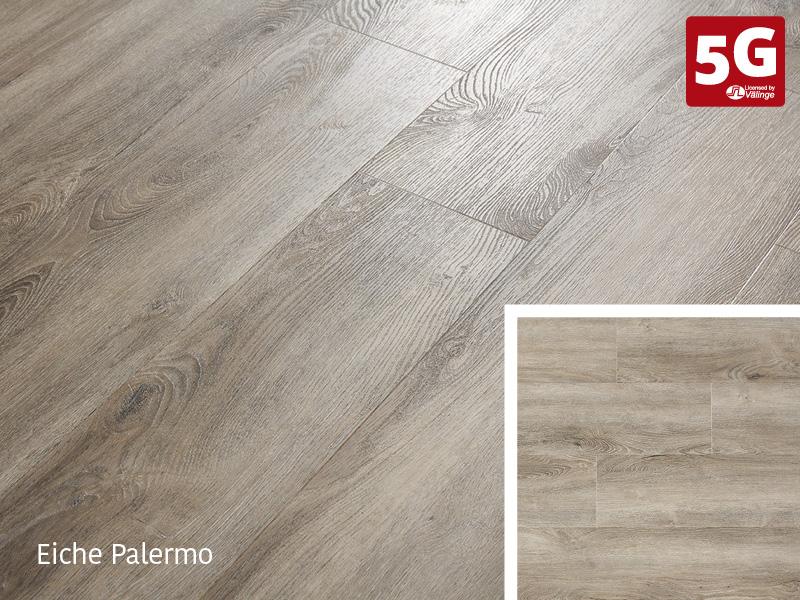 Design-Vinylboden Rigid 55 Eiche Palermo