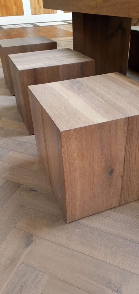 Möbel aus Dielen – Eiche Trentino