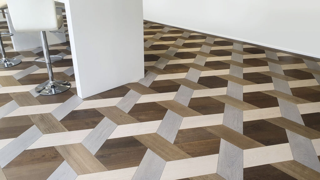 Woodline Parquetry Parkett – Gande Hexagonal