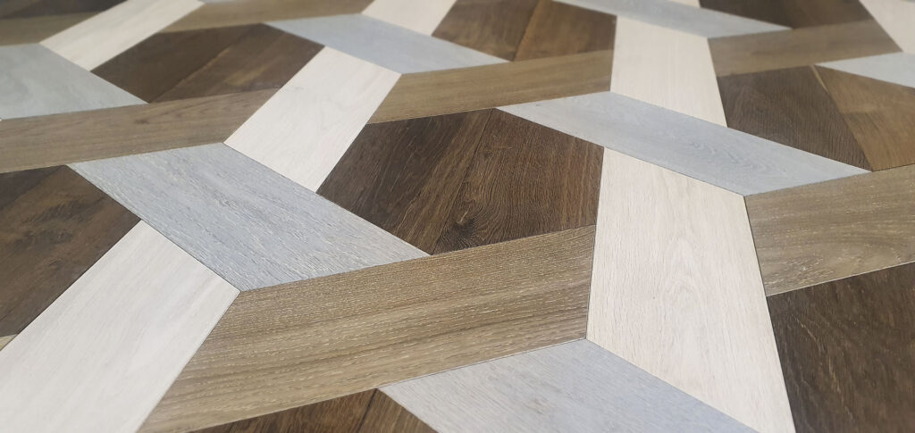 Grand Hexagonal Parkett von Woodline Parquetry