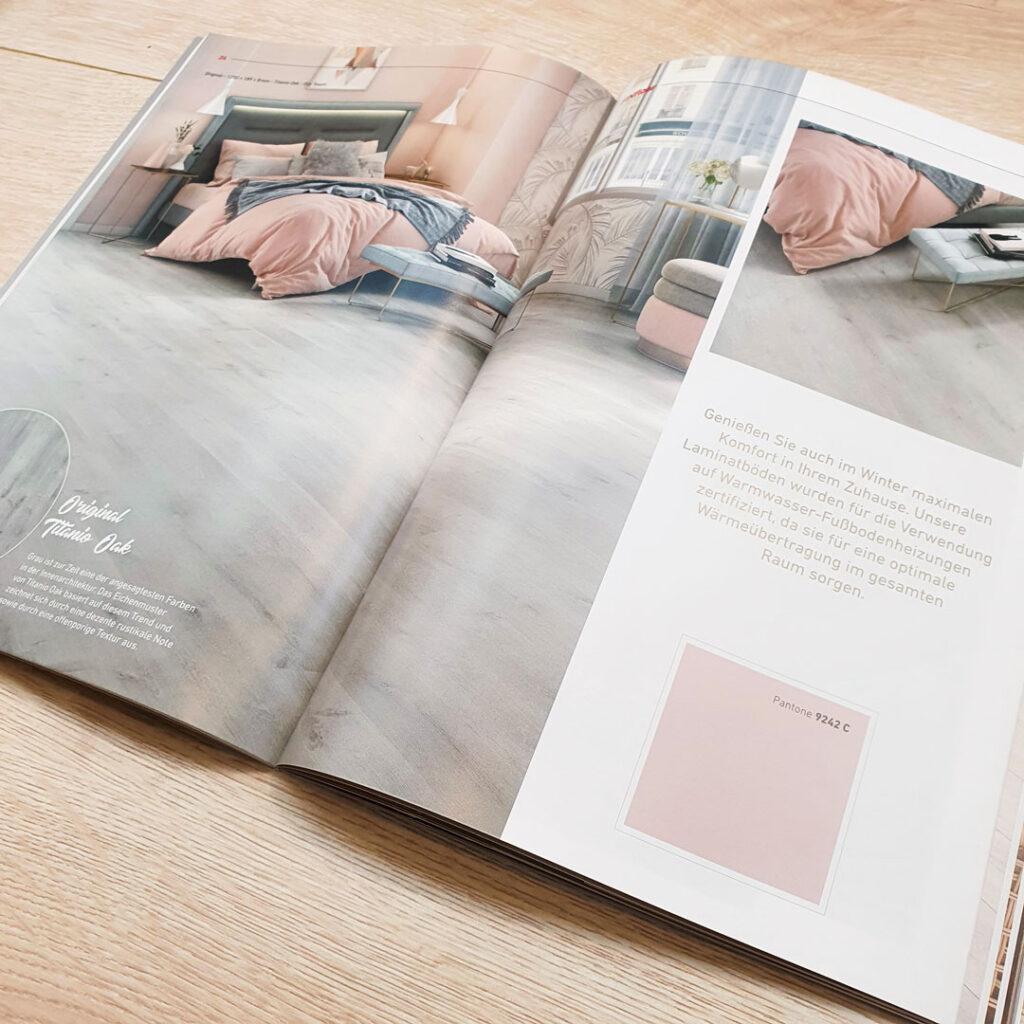 FINfloor Laminat – Neuer Katalog Seite 24–25
