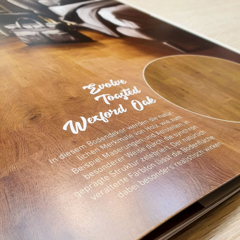 FINfloor Laminat Katalog – Nahaufnahme