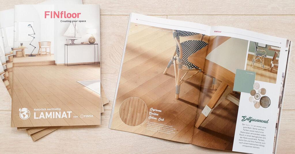 FINfloor Laminat – Neuer Katalog